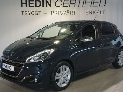 begagnad Peugeot 208 5-dörrar 1.2 VTi Manuell 82hk