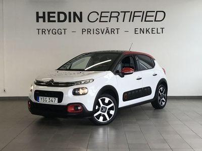 begagnad Citroën C3 PureTech Shine Panorama/V-hjul