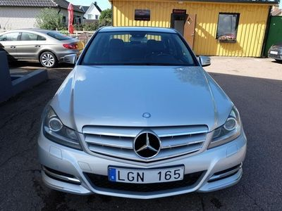 begagnad Mercedes C220 CDI BlueEFFICIENCY 170hk