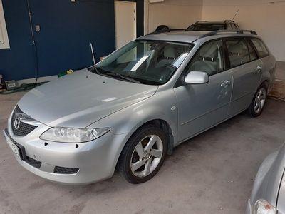 begagnad Mazda 6 Wagon 2.0 Touring 141hk -04