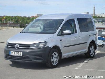 begagnad VW Caddy Life 2.0 TDI 5-sits Värmare