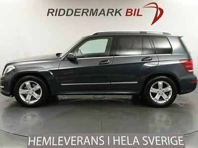 begagnad Mercedes GLK220 CDI 170hk 4M AMG D-värm Navi Nyservad Skinn/Alcantara