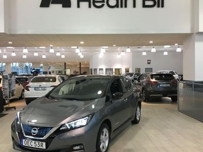 begagnad Nissan Leaf E TEKNA 62 KWH DEMOBIL V-hjul 2019, Halvkombi 377 900 kr