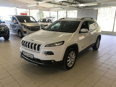 used Jeep Cherokee 2.2 CRD 4WD Automat Euro 6 200hk