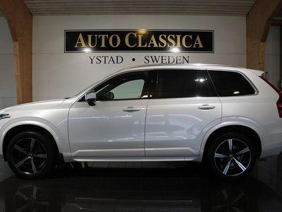 begagnad Volvo XC90 D5 AWD R-Design Polestar 7-SITS
