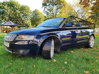 begagnad Audi A4 Cabriolet 2.5 TDI V6 Multitronic 163hk
