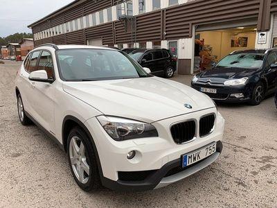 begagnad BMW X1 sDrive20d 184hk Skinn Drag Toppskick