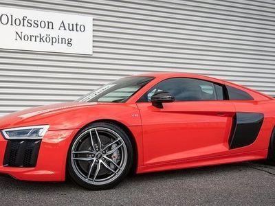 begagnad Audi R8 Coupé V10 Plus Laser B&O Carbon 2016, Sportkupé 1 095 000 kr