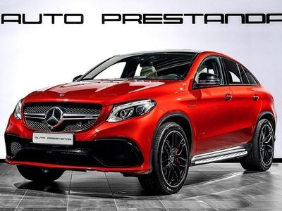 begagnad Mercedes GLE63 AMG AMGS 4M Coupé 585hk 4-Matic