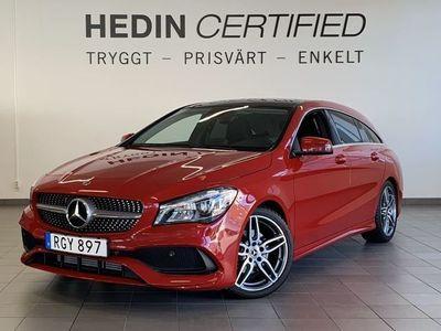 begagnad Mercedes CLA200 Shooting Brake // AMG Sky // Dragkrok // KEYLESS GO // Aktiv Parkeringsassi