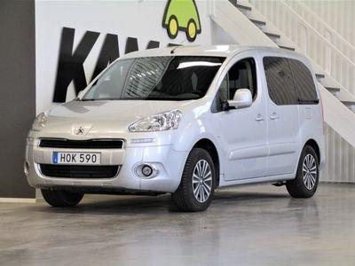 begagnad Peugeot Partner Tepee 1.6 HDi 5-Sits Drag. M-Värm 2015, Övrigt 109 500 kr