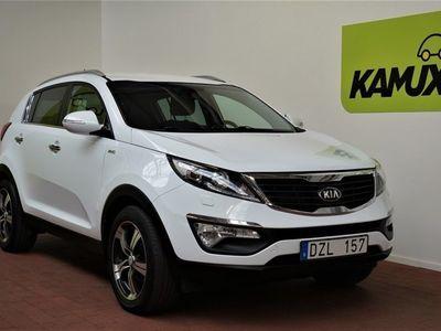begagnad Kia Sportage 2.0 CRDi AWD Drag M&K-värmare