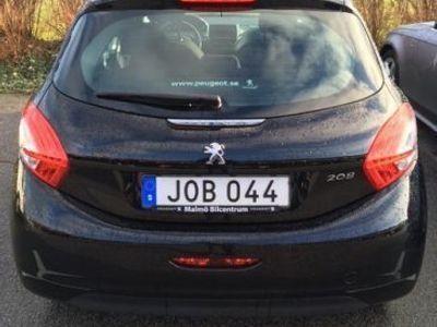begagnad Peugeot 208 ACTIVE 1.2 VTi 5 dörrrar svart -14