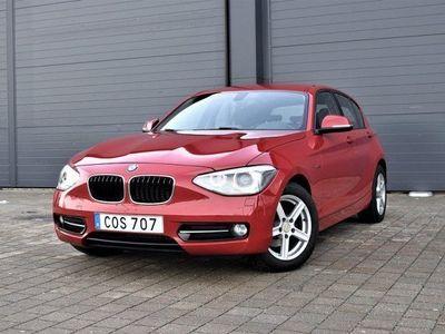 gebraucht BMW 116 d 5-door Sport line Svensksåld hk 2014, Personbil 124 900 kr