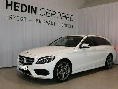 begagnad Mercedes C220 D AMG/KOMBIPAKET