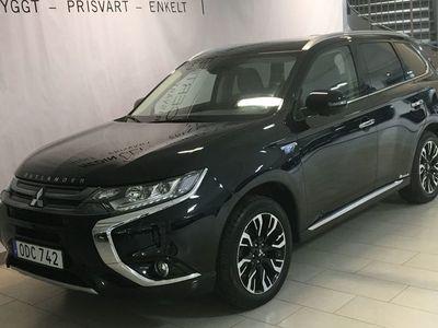 begagnad Mitsubishi Outlander PHEV Business Nav safety s+v-Hjul
