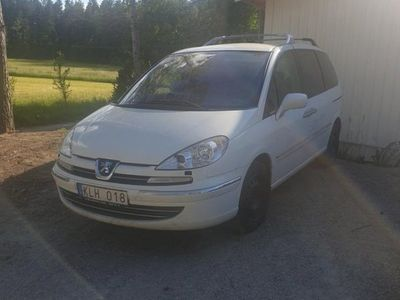 begagnad Peugeot 807 2.0hdi manuel besiktad