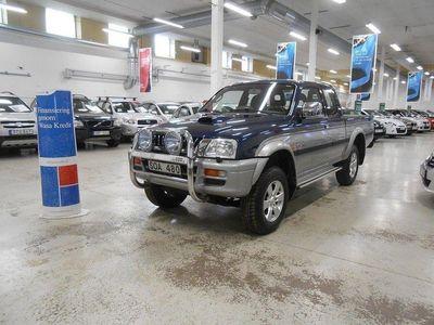 begagnad Mitsubishi L200 2.5TD 4WD Drag Ny Servad