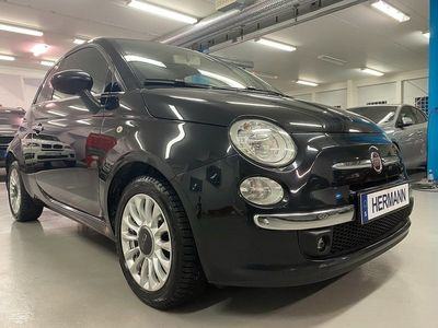 begagnad Fiat 500 1.2 LOUNGE SKINN DRAGKROK EURO 6 69hk