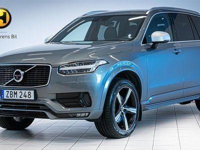 begagnad Volvo XC90 D5 AWD R-Design Head-Up 7-Sits 2018, SUV 529 900 kr