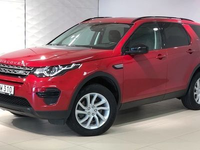 begagnad Land Rover Discovery Sport TD4 (180 hk) / 7-s