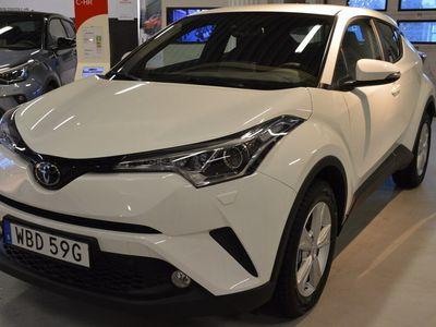begagnad Toyota C-HR 1.2T Vinterhjul Friktion Backkamera