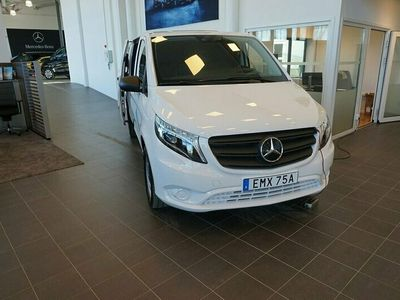begagnad Mercedes Vito 116 skåp lång Kampanj 163hk 4x4 Automat