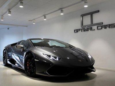 begagnad Lamborghini Huracán LP-610 SPYDER Sensonum -17