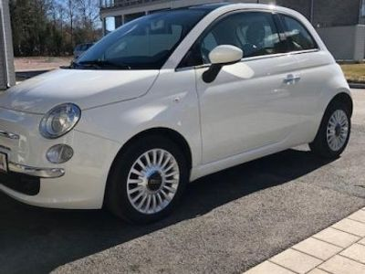 begagnad Fiat 500 1.2 LOUNGE 69HK GLASTAK -13