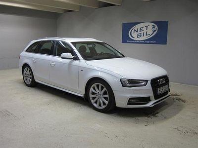 used Audi A4 Avant 2.0 TDI clean diesel quattro (190hk)