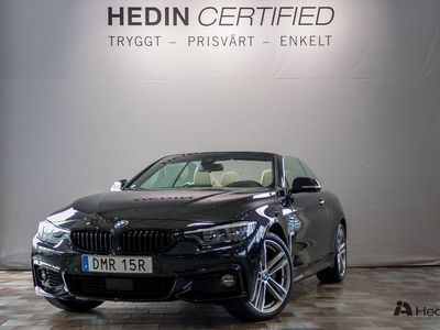 begagnad BMW 440 i xDrive Cabrio // M Sport & Head-up //
