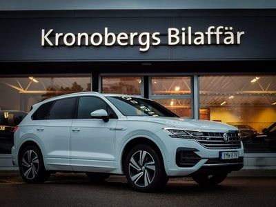 begagnad VW Touareg 3.0 V6 TDI 4Motion R-line, Executive 286hk