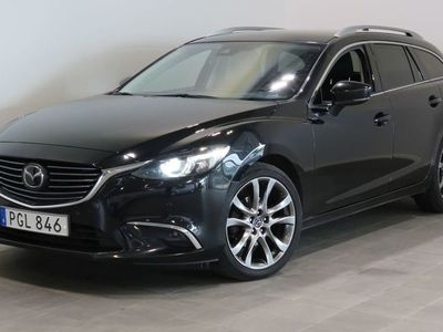 begagnad Mazda 6 2.5 Optimum AUT Navigation / Backkamera