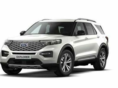 begagnad Ford Explorer Plug-In-Hybrid Platinum 450hk