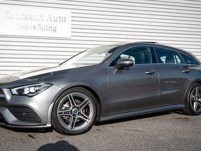 begagnad Mercedes 180 CLA BenzShooting Brake AMG Drag Navi Panorama 2020, Sportkupé 334 900 kr