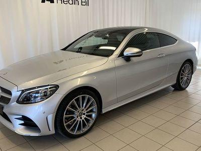 begagnad Mercedes C220 - BenzD 4MATIC COUPÉ *AMG *PANORAMATAK