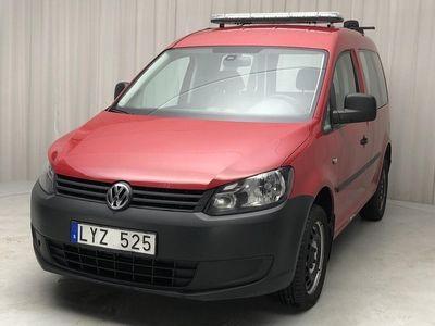 begagnad VW Caddy 2.0 TDI Skåp 4-motion (140hk)