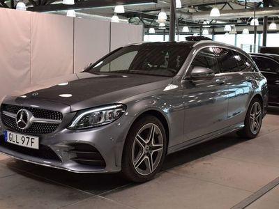 brugt Mercedes C220 D 4MATIC KOMBI // Demo // AMG // Värmare // Panorama