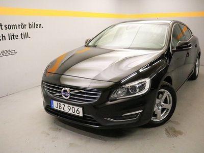usado Volvo S60 D4 Momentum Business E, Dragkrokjöklass EURO6, VOC m fjärrstart parkvärm, Navigation 2016, Sedan 179 900 kr