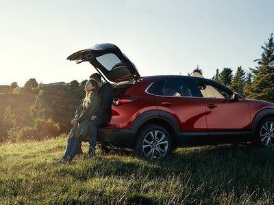 begagnad Mazda CX-30 A6 2.0 Cosmo 180 hk Svart Skinnklädsel