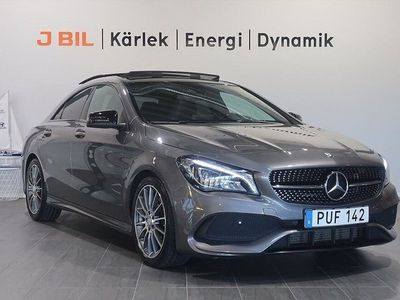 begagnad Mercedes CLA220 d Coupe AMG Sport 177hk Aut - Panoramaglastak
