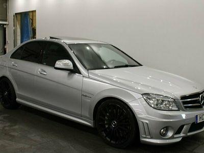 begagnad Mercedes C63 AMG AMG 457hk Taklucka Svensksåld
