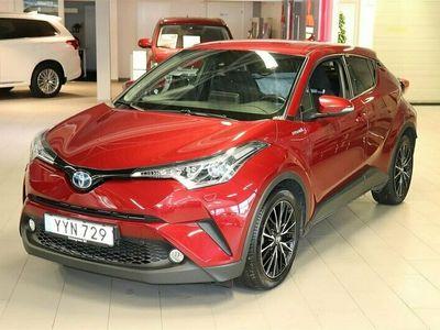 begagnad Toyota C-HR 1.8 HSD 122 Hk Aut