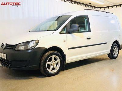 gebraucht VW Caddy Maxi 1.6 TDI DSG Comfort Plus 102hk värmare Drag