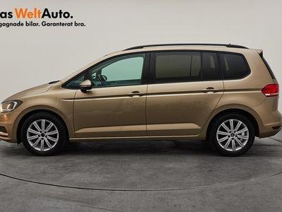 begagnad VW Touran 1,6 TDI 115/P-värmare/Drag/7-sits