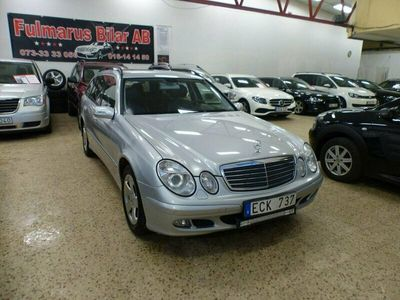 begagnad Mercedes E200 5G-Tronic Sport Ny Besiktigad 163hk