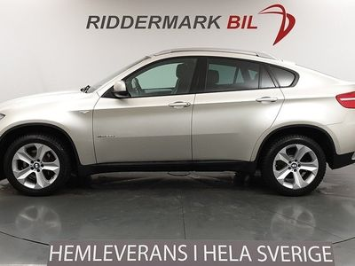 begagnad BMW X6 xDrive35d Sv-Såld Komfortstolar Navi D-värm Drag