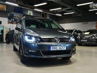 begagnad VW Sharan TDI Premium,Panorama Comfort 7-sits 150hk
