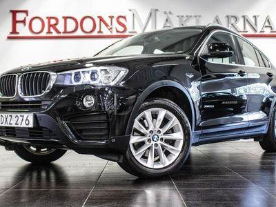 begagnad BMW X4 XDRIVE DRAG AUT 190HK EURO6