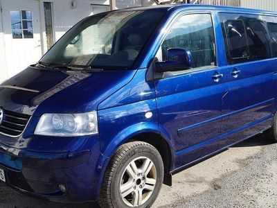 begagnad VW Multivan 2.5 TDI Automat Highline -05